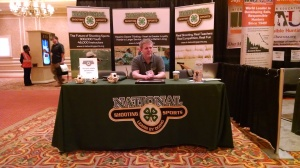 John Bowe, National 4-H Shooting Sports Booth