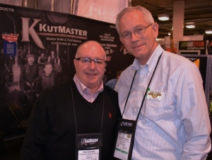 Director Bill Schwerd (R) with Mike Mathews (L), National Sales Manager for KutMaster/Utica Cutlery
