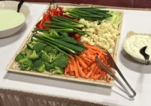 Fresh Vegetable Platters & Dips