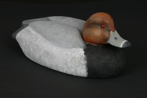 Ring Necked Duck Decoy, Hand Carved & Painted by Rich Parks