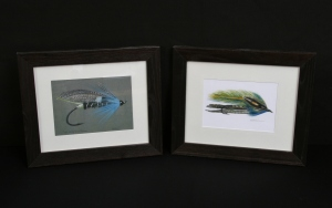 Flies, Matted/Framed Prints by Vermont Illustrator S.M. Aronson