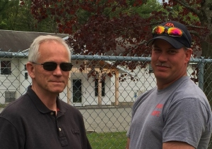 NYS4-HSS Director, Bill Schwerd (L) with son, Mike Schwerd (R)